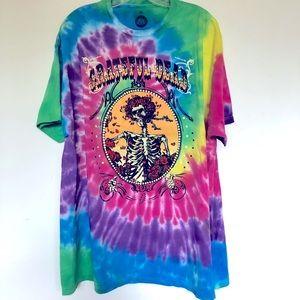 Grateful Dead Bertha Tie Dye Tee Shirt